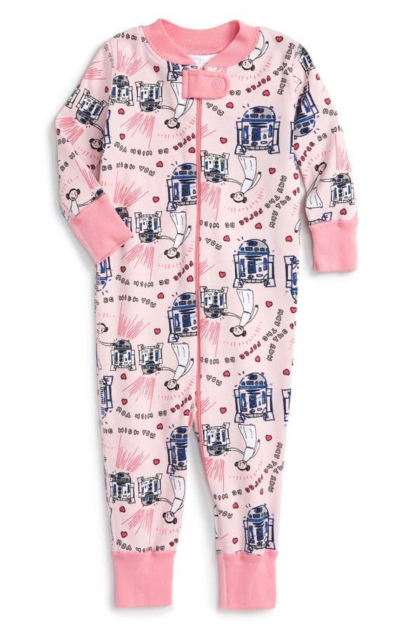main image hanna andersson star wars valentines day organic cotton pajamas - Valentines Day Pajamas