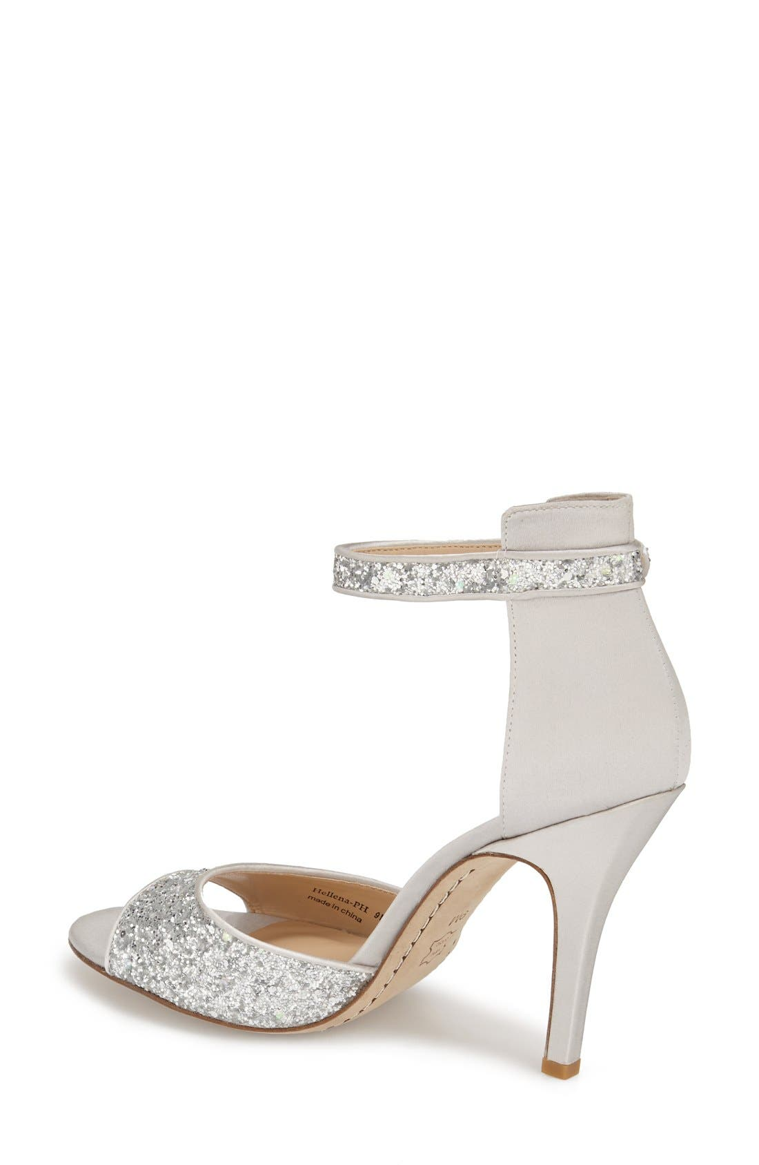 Alternate Image 2  - Kay Unger 'Phoebe Collection - Helena Glitter' Sandal (Women)
