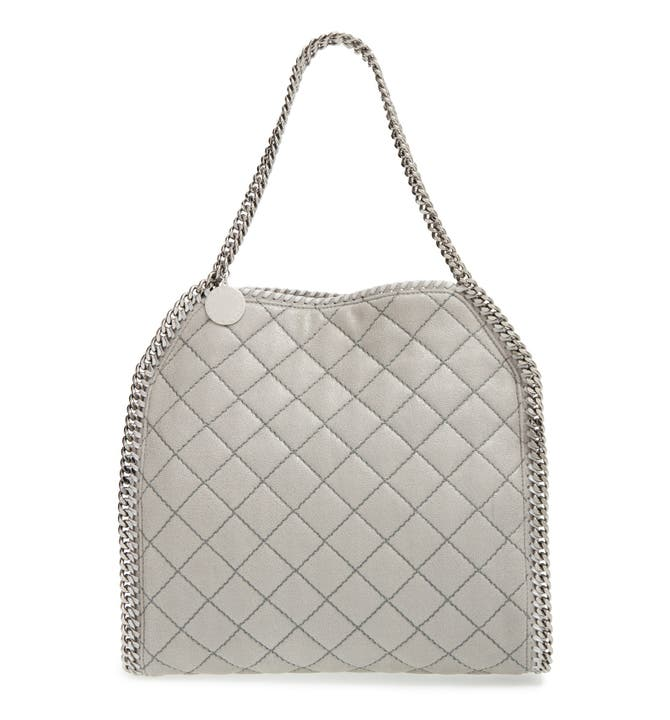 Stella McCartney 'Small Falabella' Quilted Faux Leather Tote ... : quilted faux leather tote - Adamdwight.com