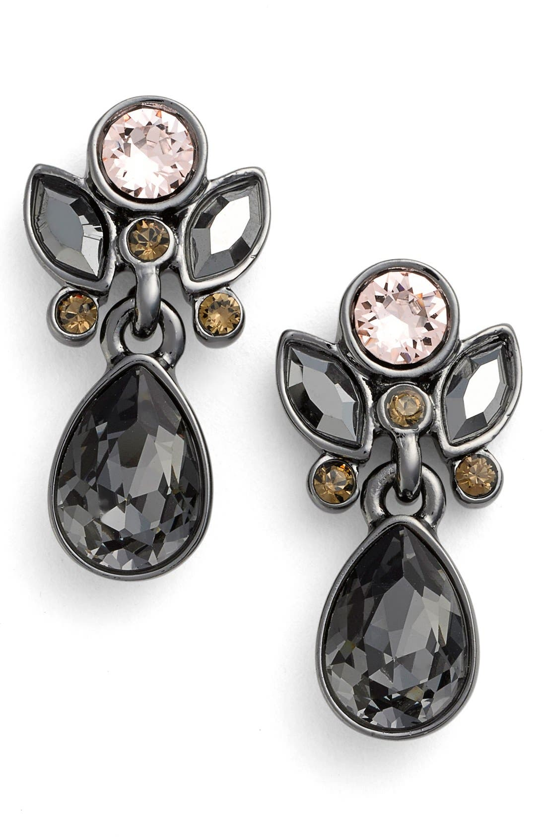 Alternate Image 1 Selected - Givenchy Small Jeweled Drop Earrings
