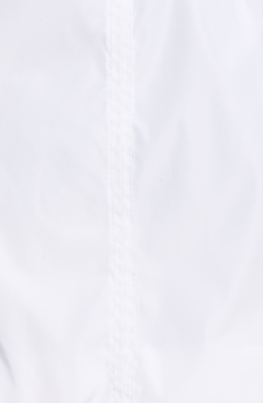 Windbreaker with Lace-Up Sides,                             Alternate thumbnail 5, color,                             White
