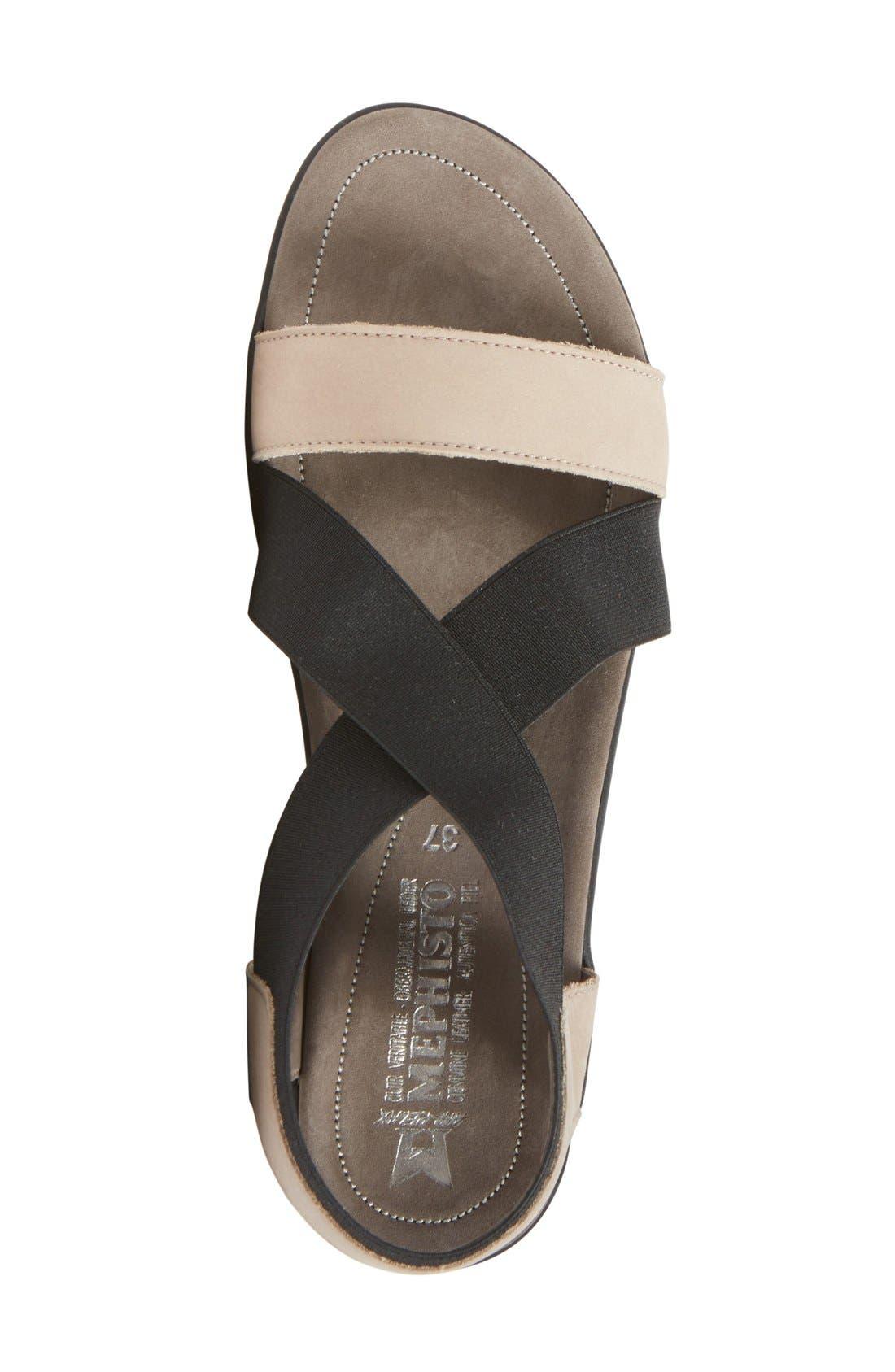 'Pastora' Sandal,                             Alternate thumbnail 3, color,                             Warm Grey
