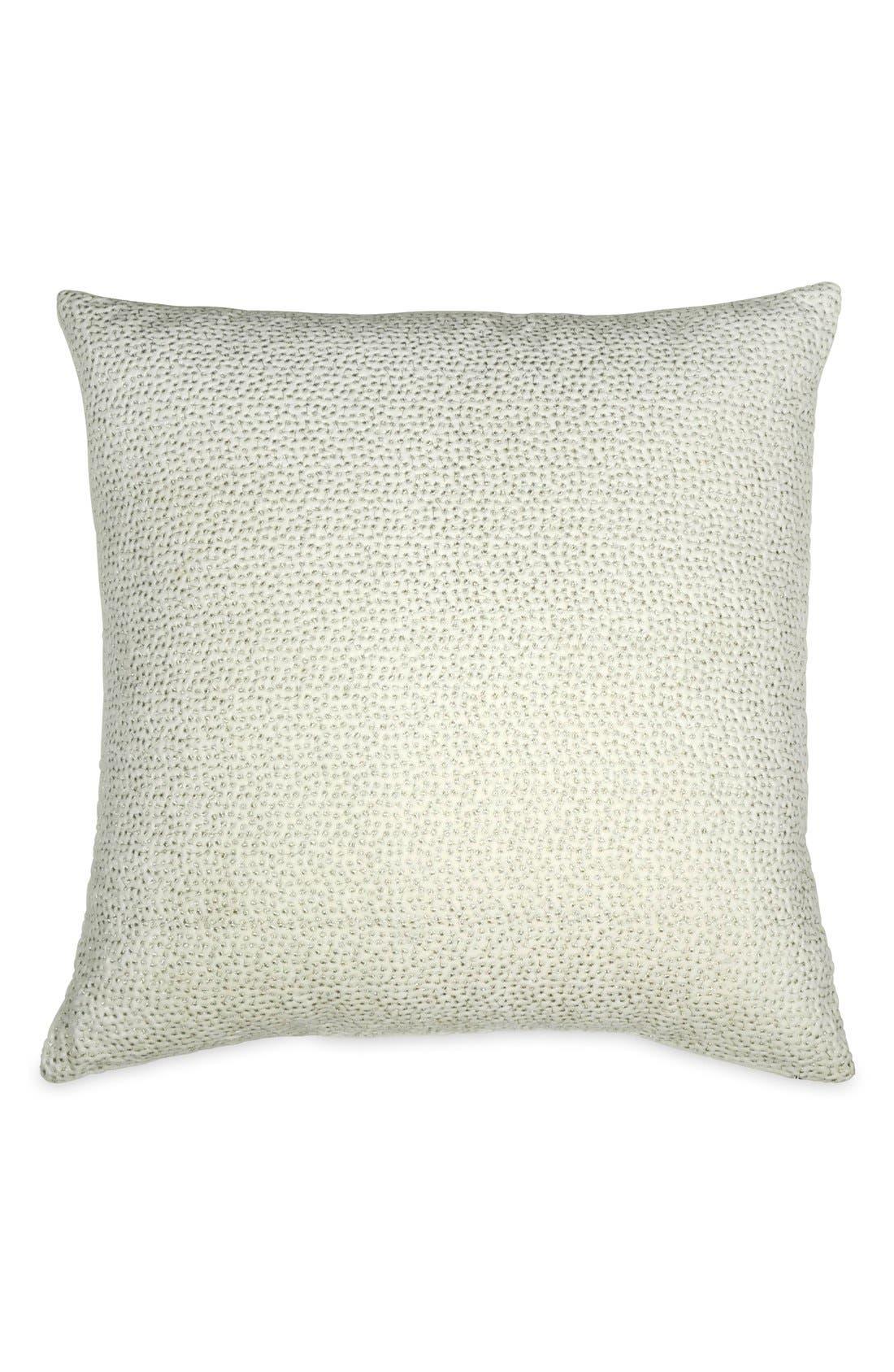 Donna Karan Collection 'Exhale' Pillow,                             Main thumbnail 1, color,                             Ivory