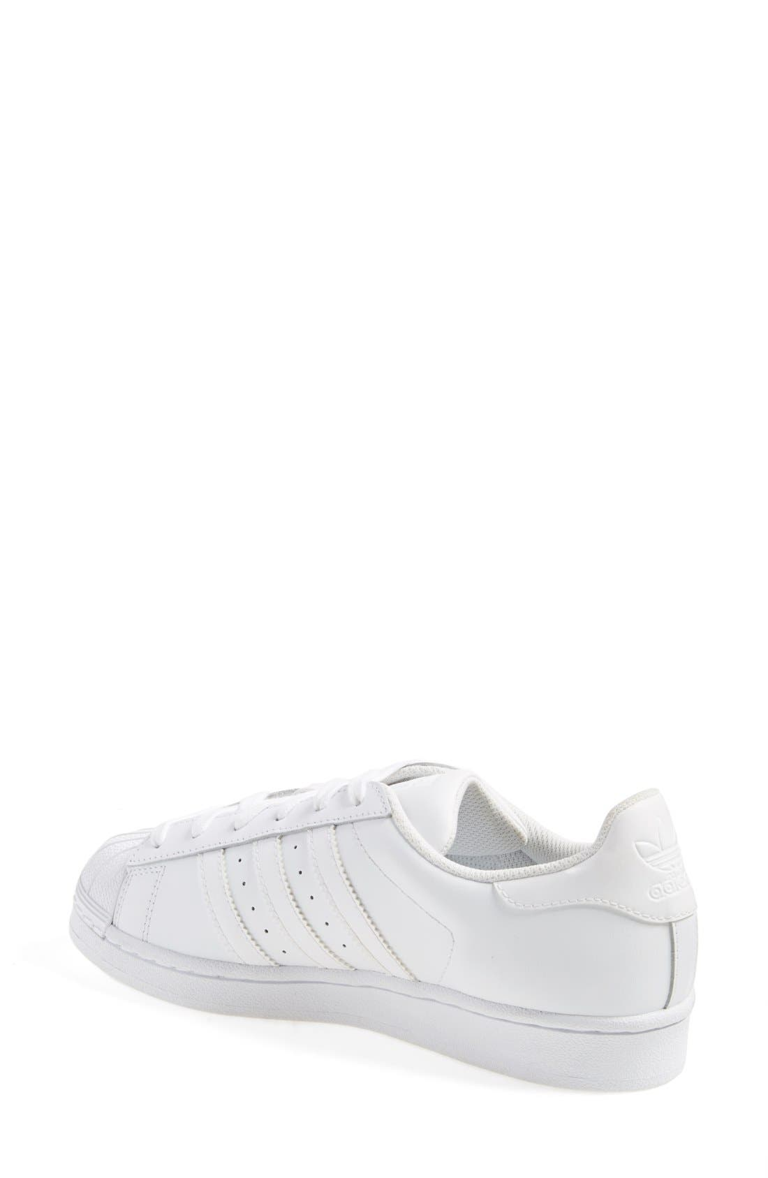 Superstar Sneaker,                             Alternate thumbnail 2, color,                             White