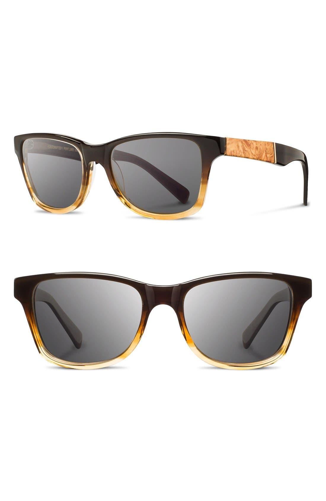 Shwood 'Canby' 53mm Sunglasses