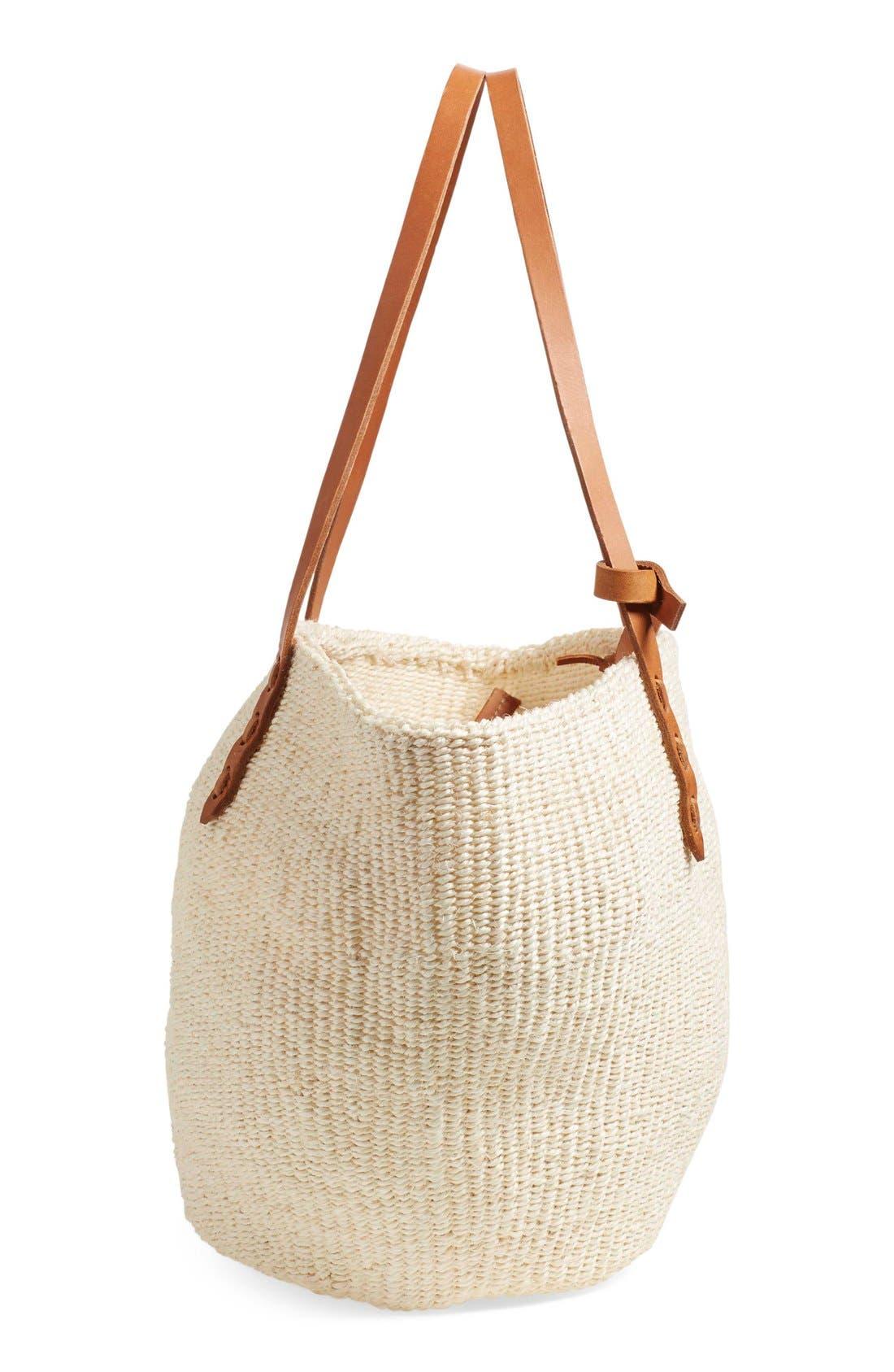Alternate Image 5  - Clare V. 'Kenya' Sisal Shoulder Bag