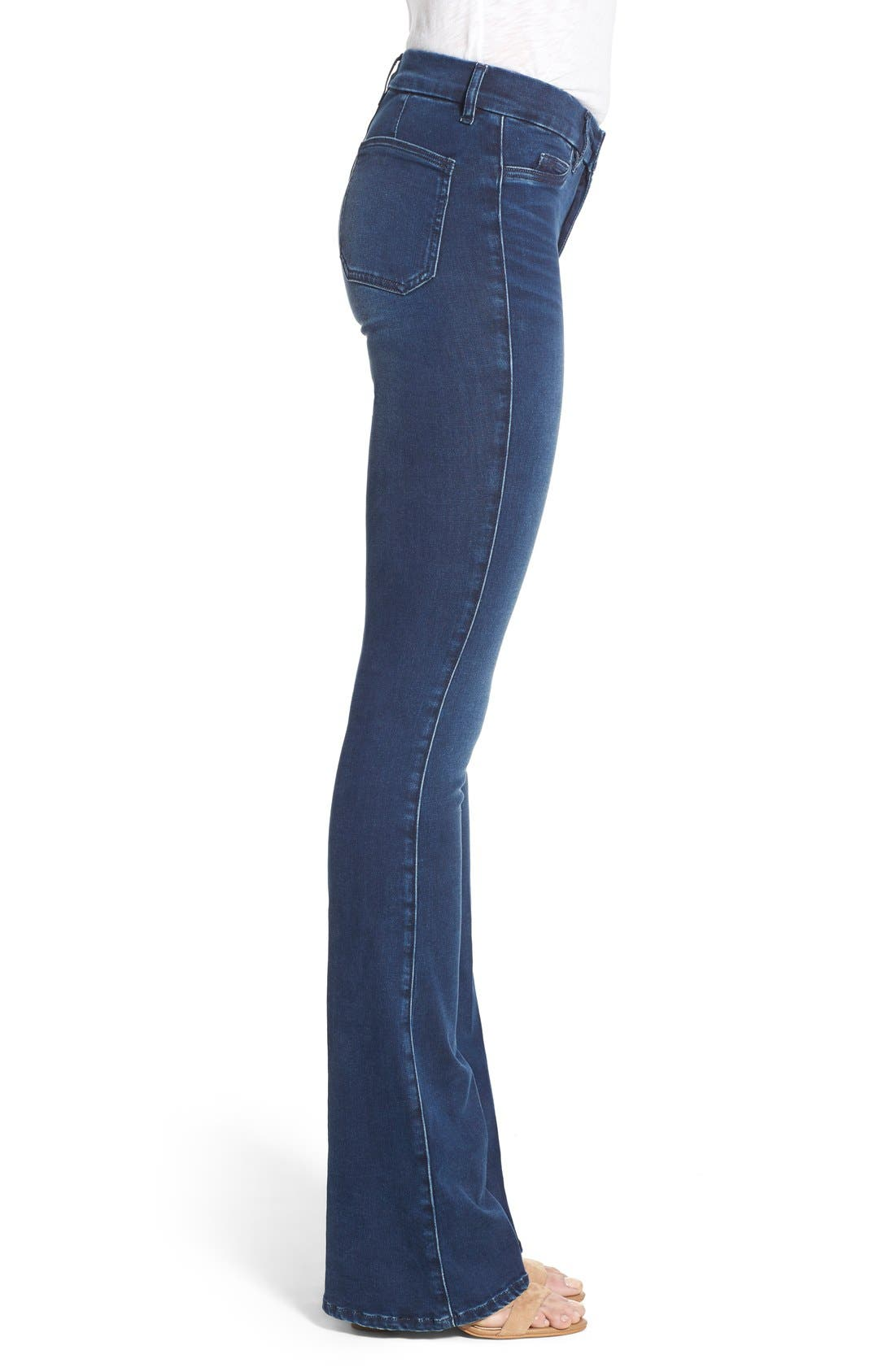 Alternate Image 3  - M.i.h. Jeans 'Superfit Marrakesh' Flare Jeans (Circle Blue)