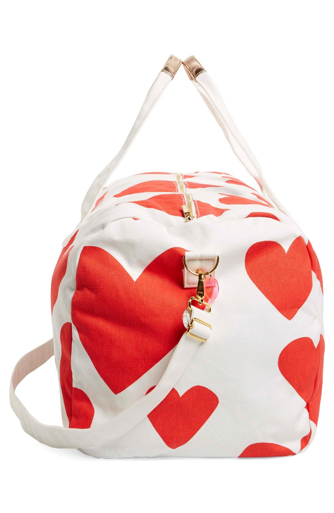 Alternate Image 5  - ban.do 'Extreme Hearts' Canvas Duffel Bag