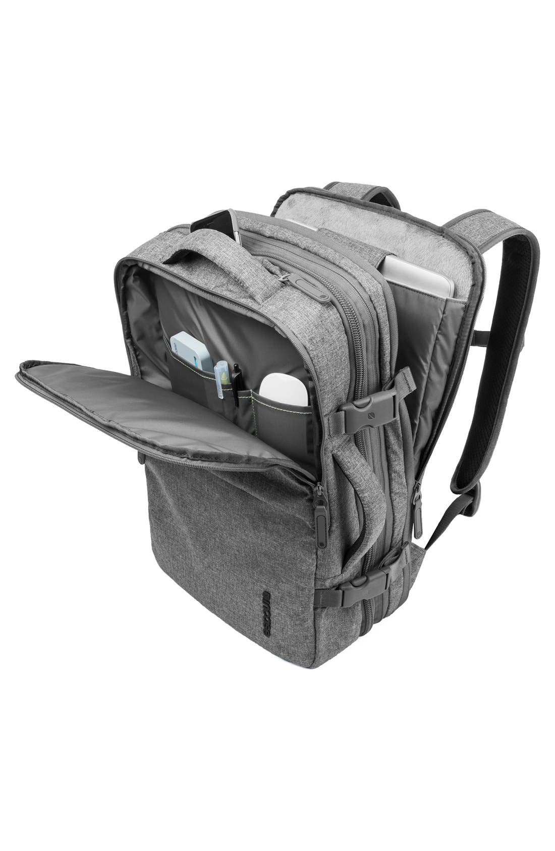EO Travel Backpack,                             Alternate thumbnail 3, color,                             Heather Grey
