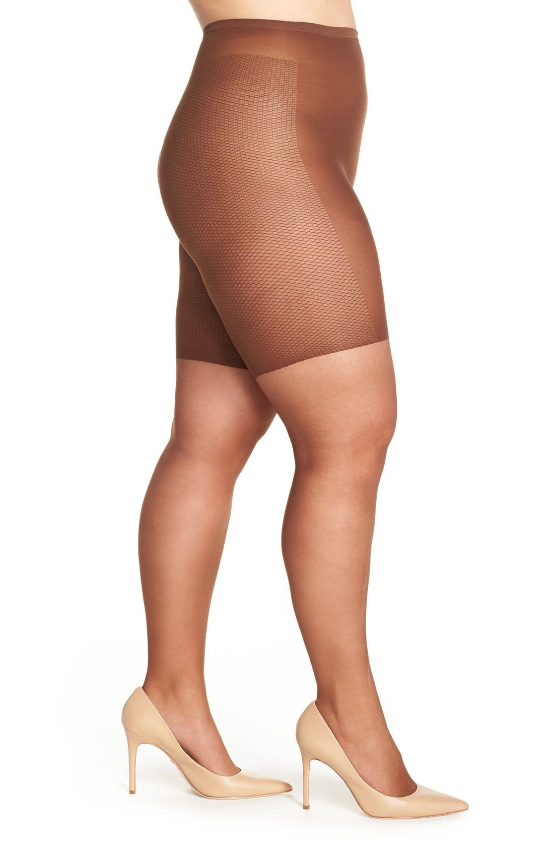 Light Control Top Pantyhose,                         Main,                         color, French Coffee
