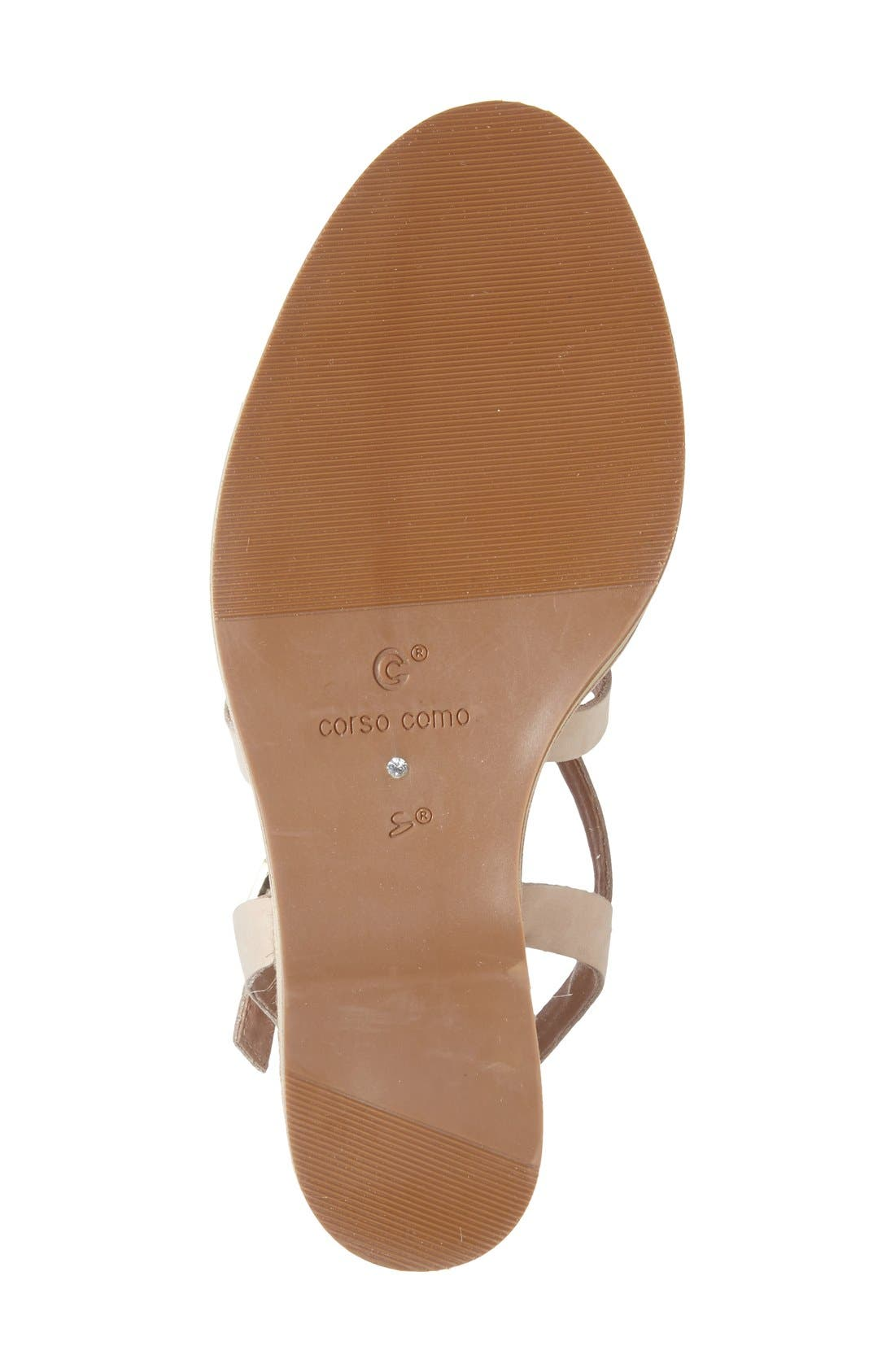 Alternate Image 4  - Corso Como 'Gladis' Espadrille Wedge Sandal (Women)