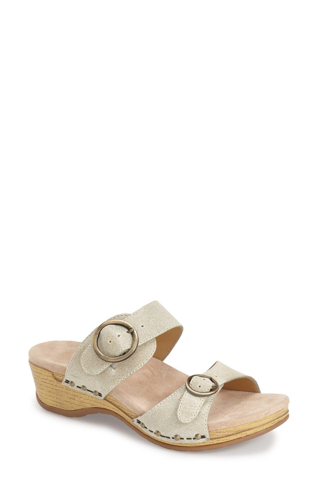 Alternate Image 1 Selected - Dansko 'Manda' Slide Sandal (Women)