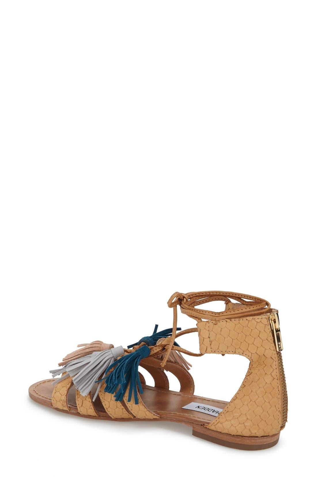 Alternate Image 2  - Steve Madden 'Monrowe' Tassel Sandal (Women)