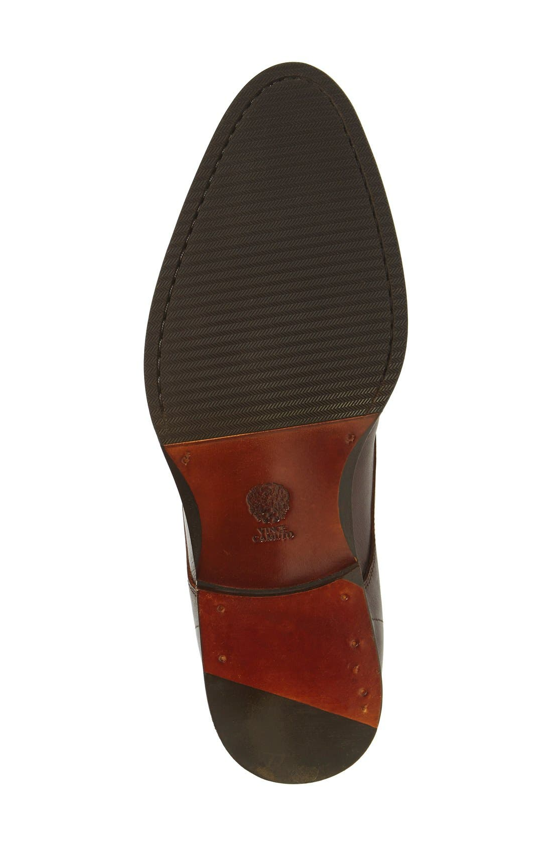 'Branx' Chukka Boot,                             Alternate thumbnail 4, color,                             Dark Brown Leather