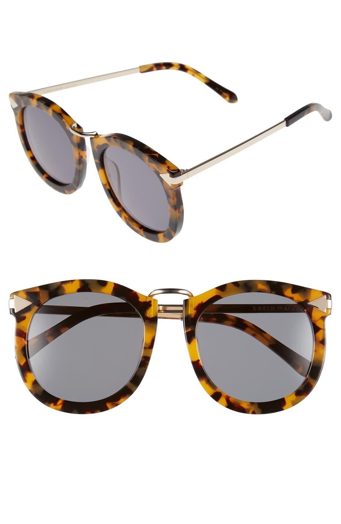 Karen Walker 'Super Lunar - Arrowed by Karen' 52mm Sunglasses