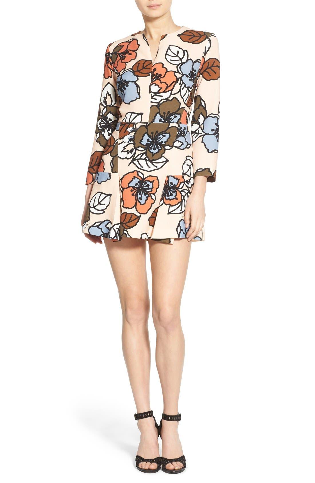 Alternate Image 1 Selected - Paul & Joe Sister 'Meridienne' Floral Skater Dress