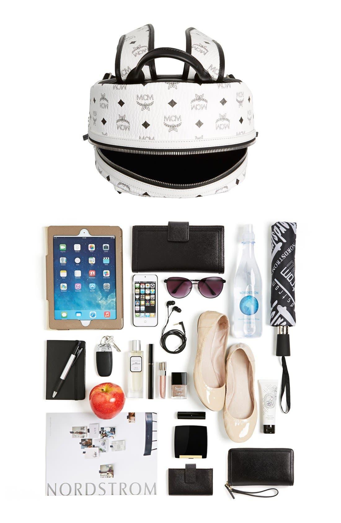 Alternate Image 7  - MCM 'Medium Stark' Side Stud Backpack
