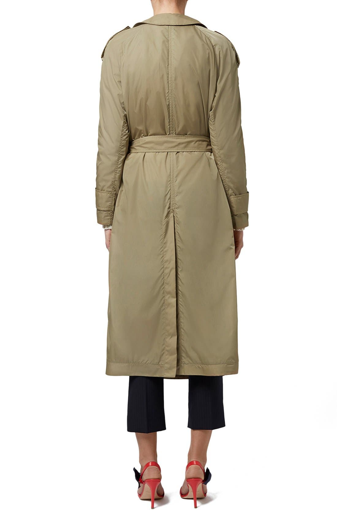 Alternate Image 4  - Topshop Unique 'Great Smith' Double Breasted Trench Coat