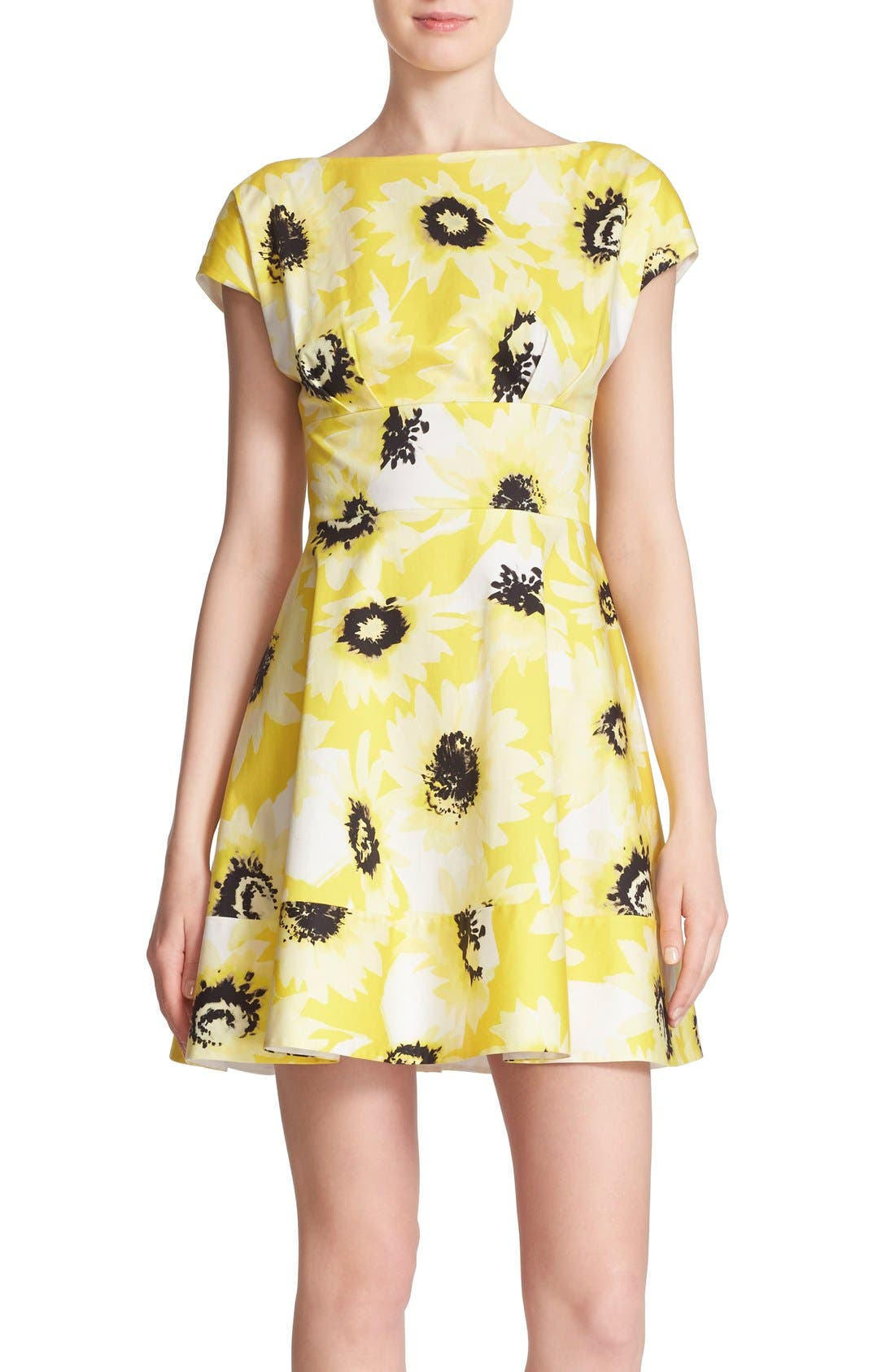 Main Image - kate spade new york 'fiorella' floral print dress