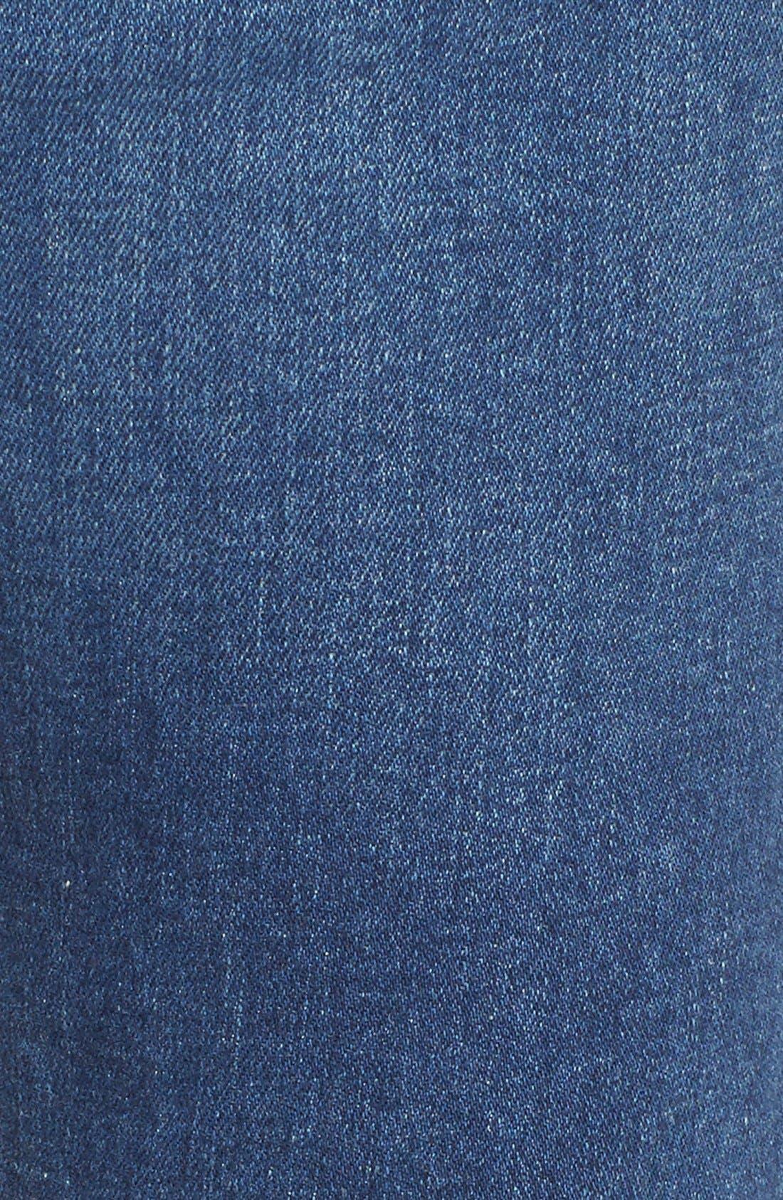 'Elsa' Crop Slim Jeans,                             Alternate thumbnail 5, color,                             Taos