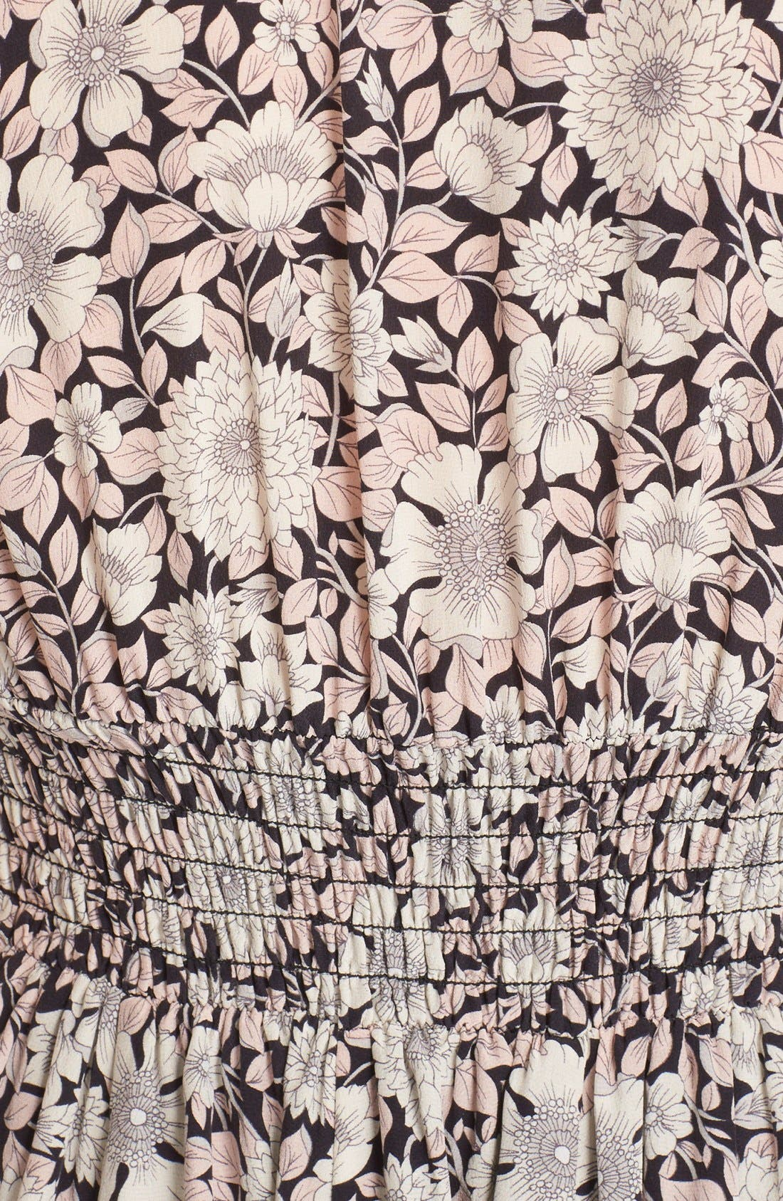 Alternate Image 5  - Rebecca Taylor 'Lindsay' Floral Print Sleeveless Silk Fit & Flare Dress