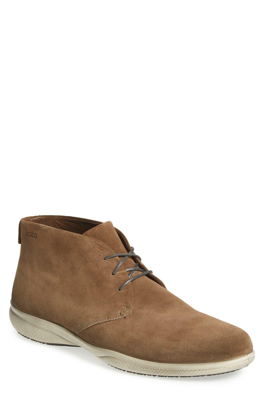 'Grenoble' Chukka Boot,                             Main thumbnail 1, color,                             Birch Leather