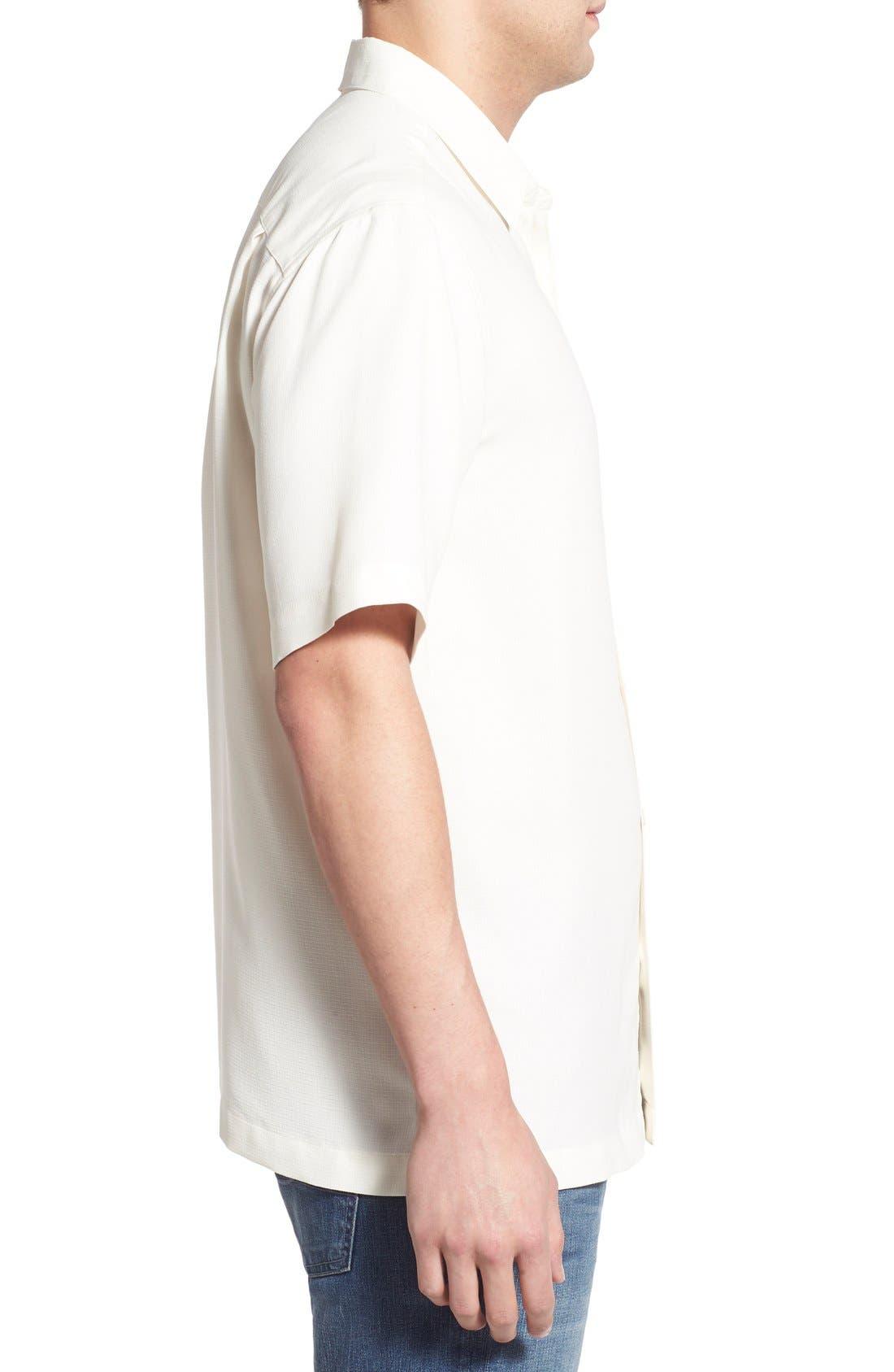 'Wind N Sea' Regular Fit Sport Shirt,                             Alternate thumbnail 3, color,                             Off White