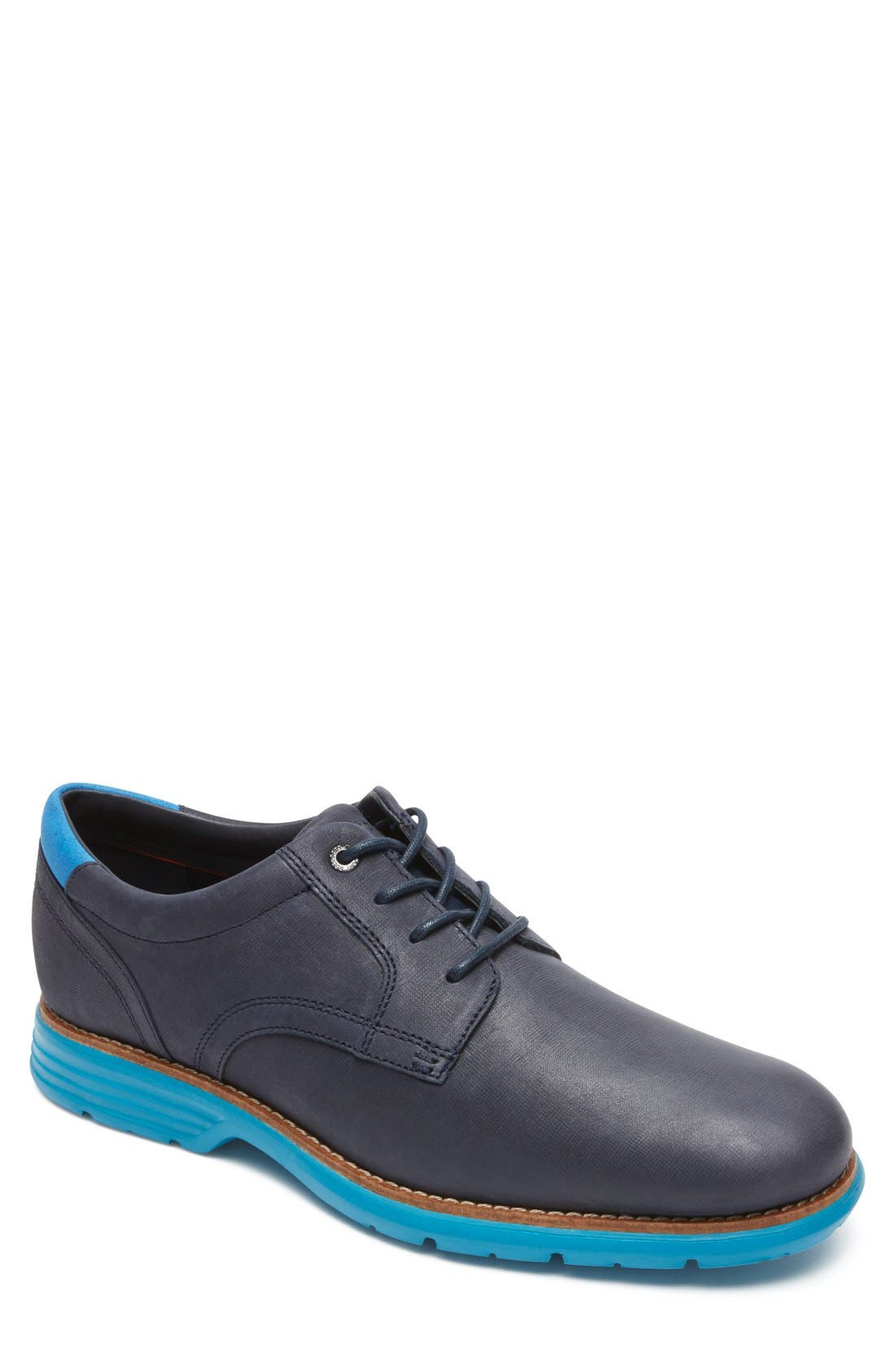 Main Image - Rockport Total Motion Fusion Plain Toe Derby (Men)