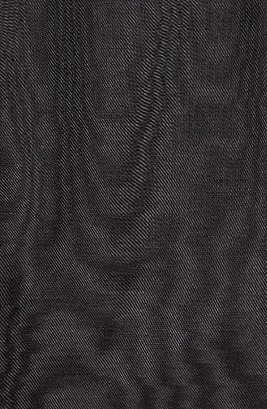 Alternate Image 5  - London Fog Hooded Double Breasted Trench Coat (Regular & Petite)