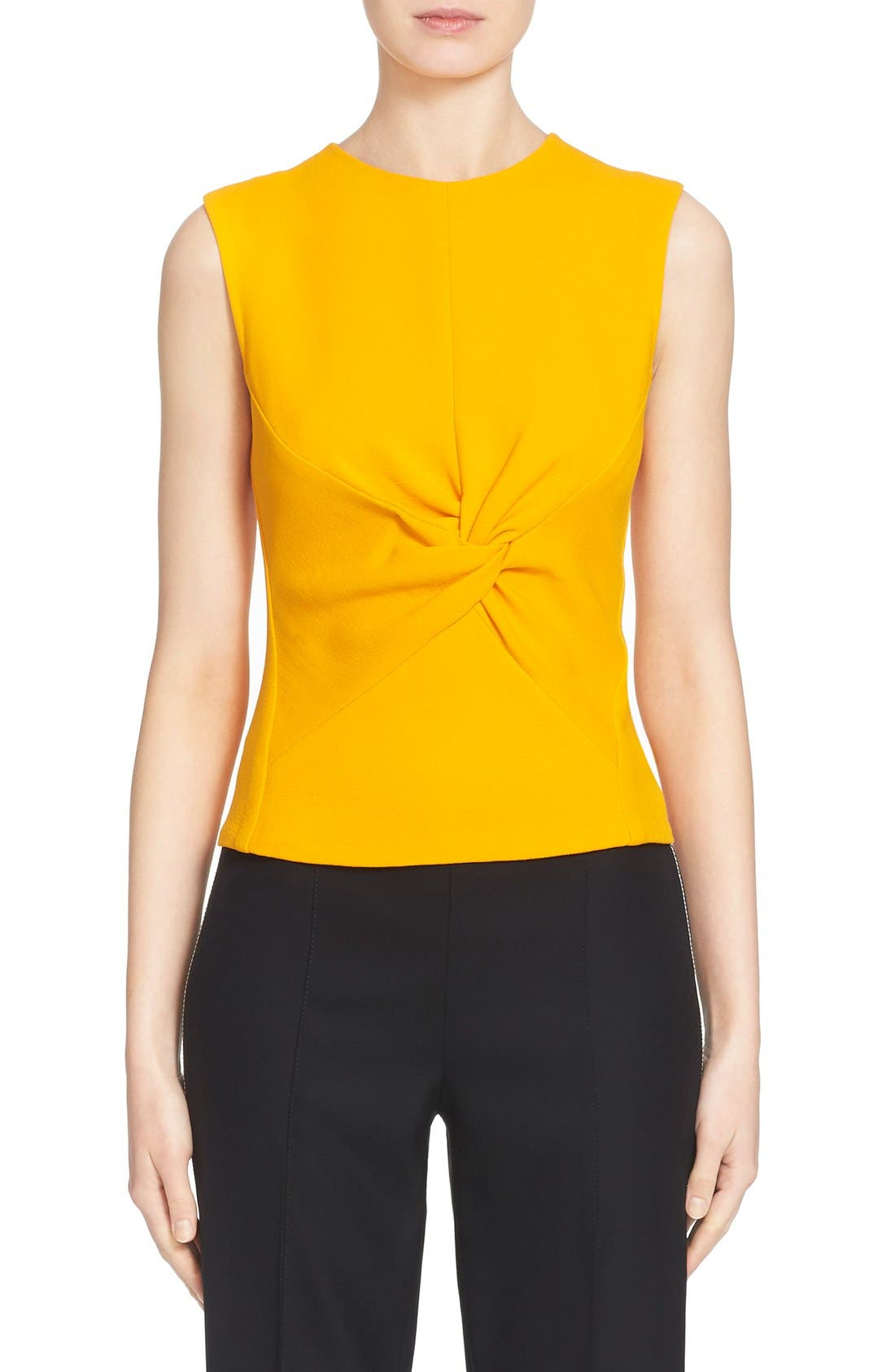 Alternate Image 1 Selected - Narciso Rodriguez Twist Front Crepe Top