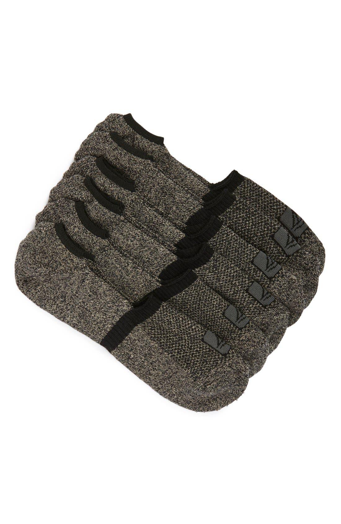 Sperry 3-Pack No-Show Liner Socks