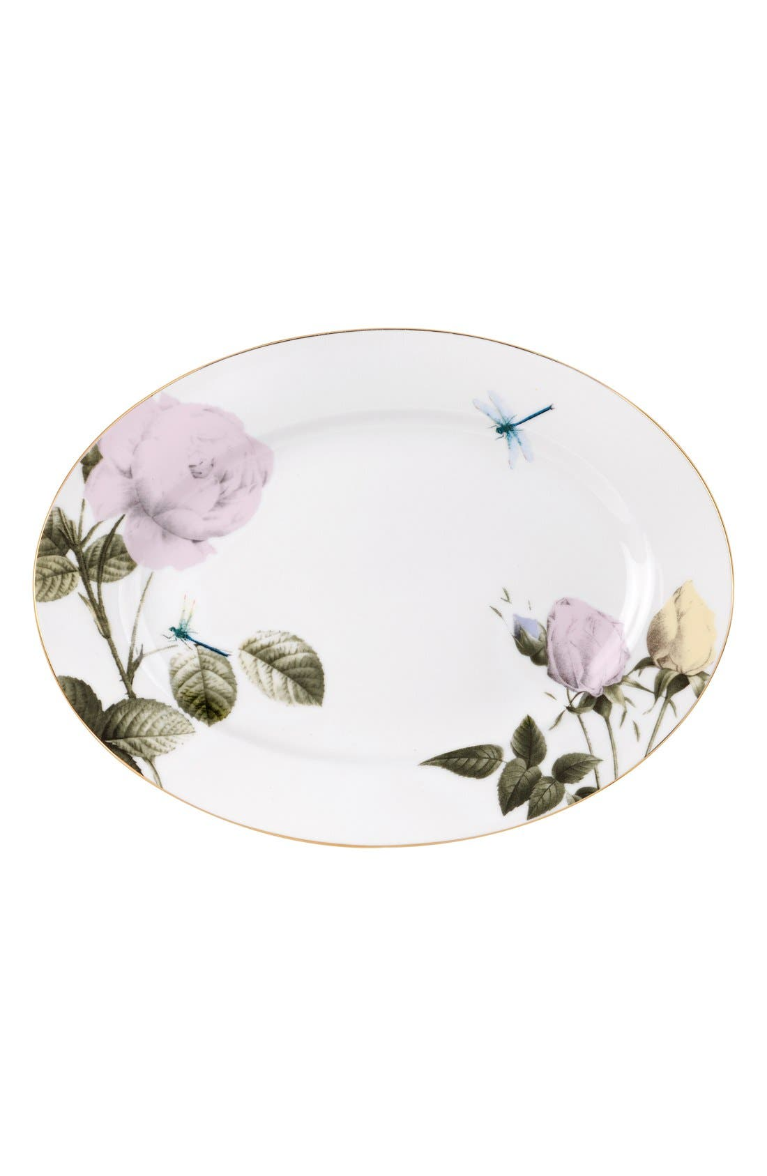 Alternate Image 1 Selected - Portmeirion x Ted Baker 'Rosie Lee' Oval China Platter