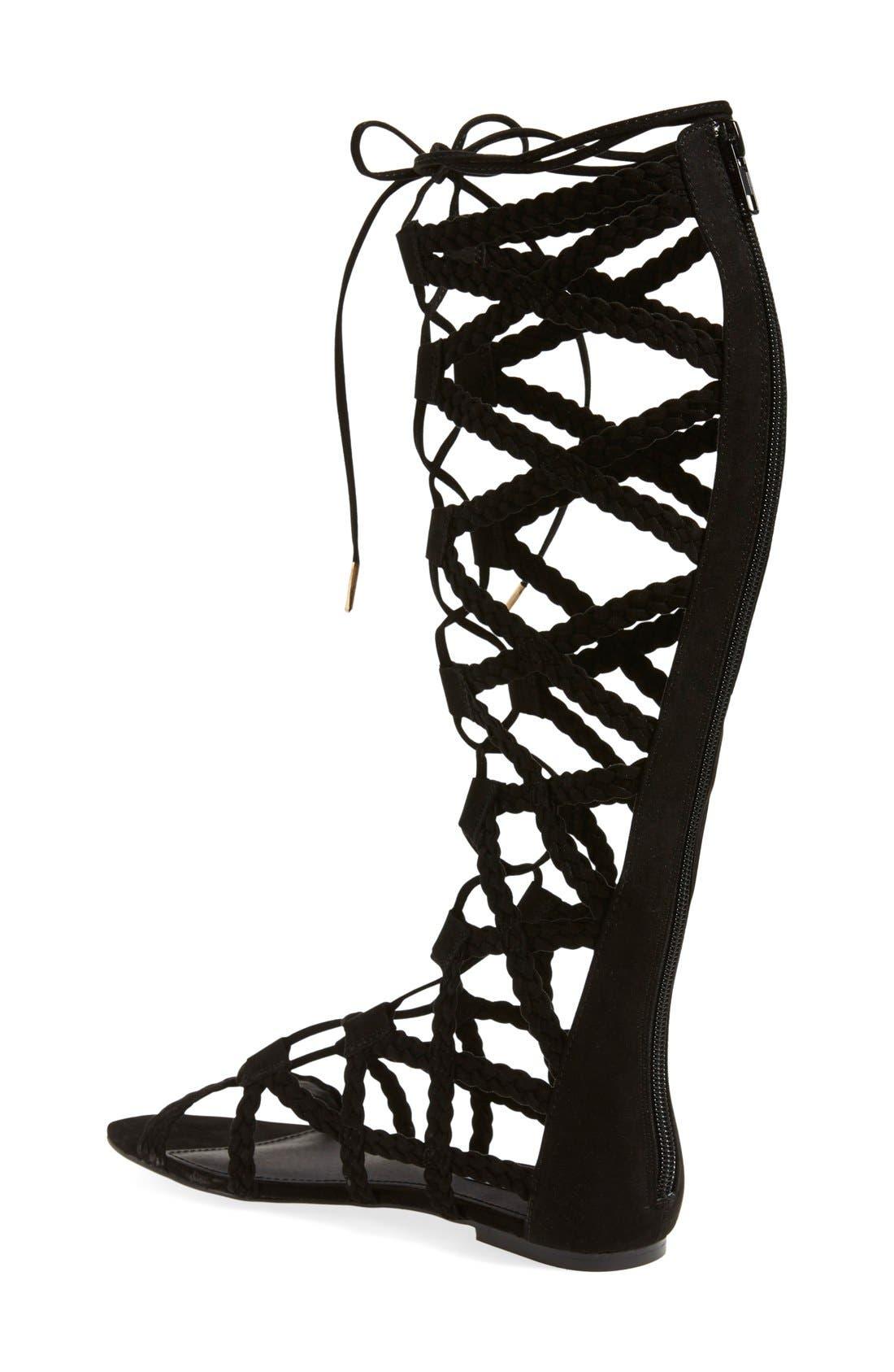 Alternate Image 2  - Steve Madden 'Sammson' Lace-Up Gladiator Sandal (Women)