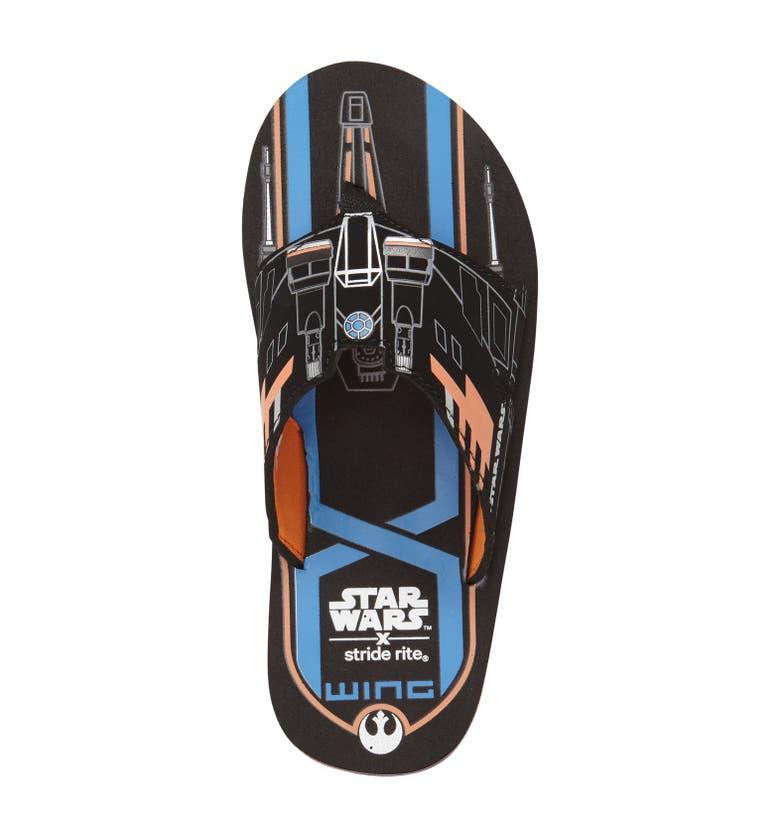 Stride Rite Star Wars X Wing Flip Flop Toddler
