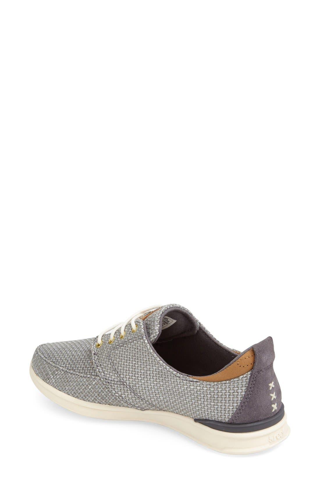 Alternate Image 2  - Reef 'Rover Low' Sneaker (Women)