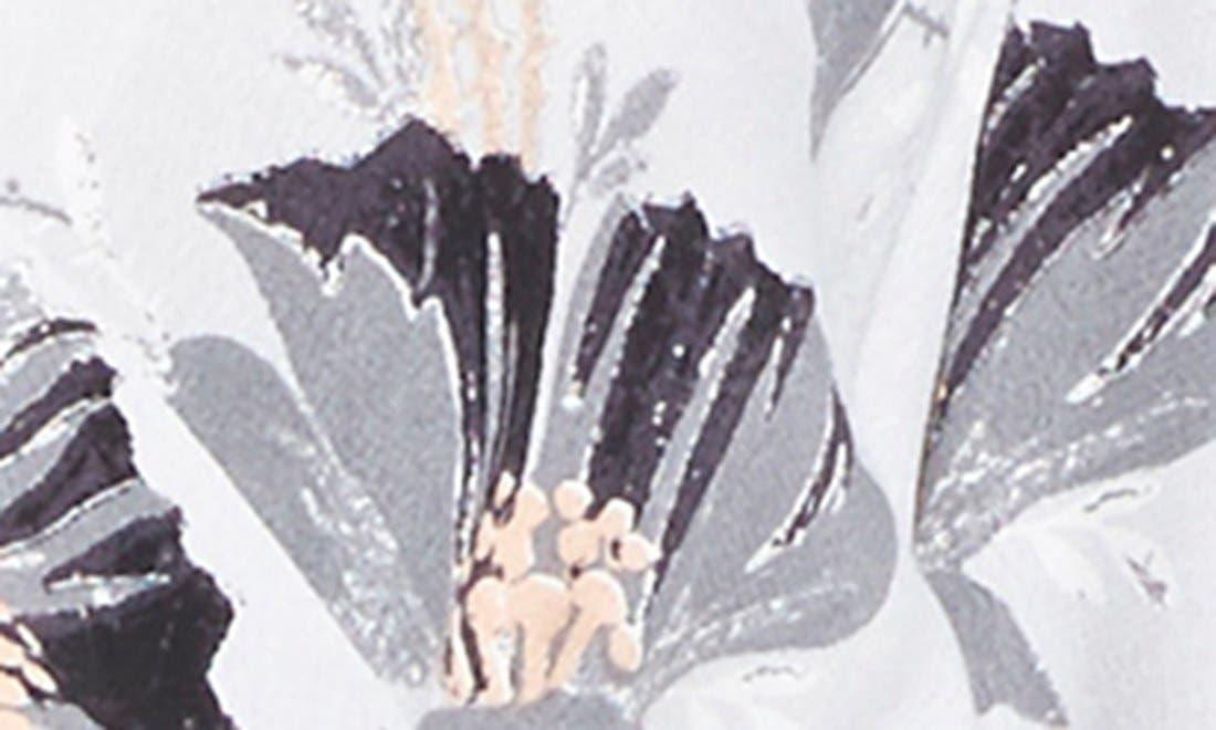 Alternate Image 5  - ASTR Floral Surplice Romper