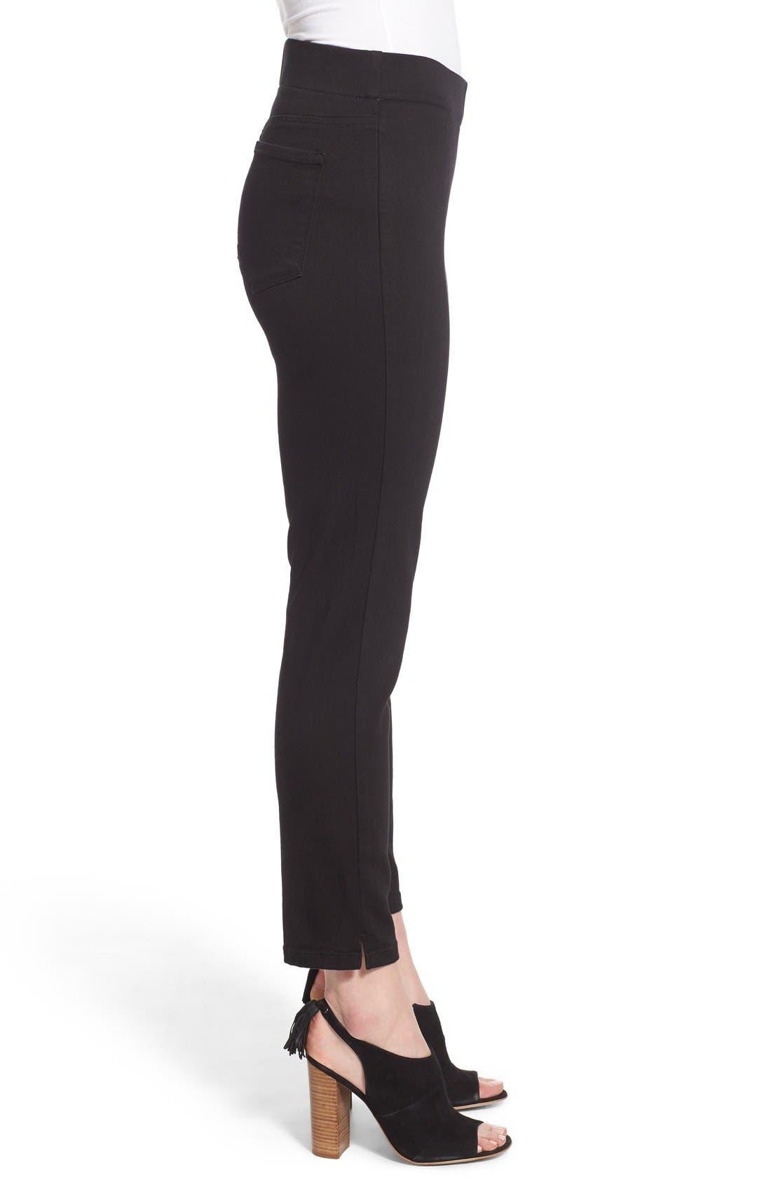 Alternate Image 3  - NYDJ Millie Pull-On Stretch Ankle Skinny Jeans (Regular & Petite)