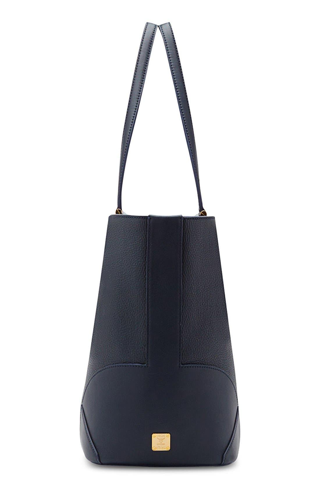 Alternate Image 4  - MCM 'Medium Claudia' Leather Shopper