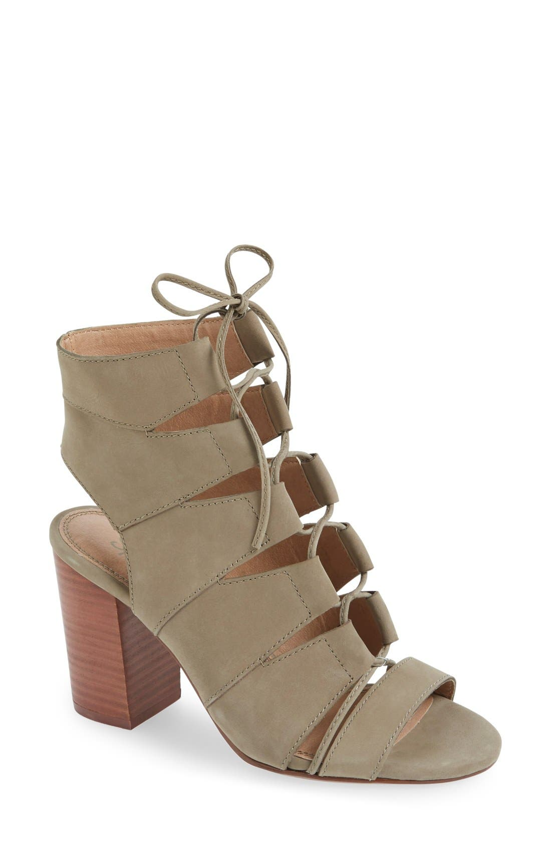 Alternate Image 1 Selected - Splendid 'Banden' Lace-up Sandal (Women)