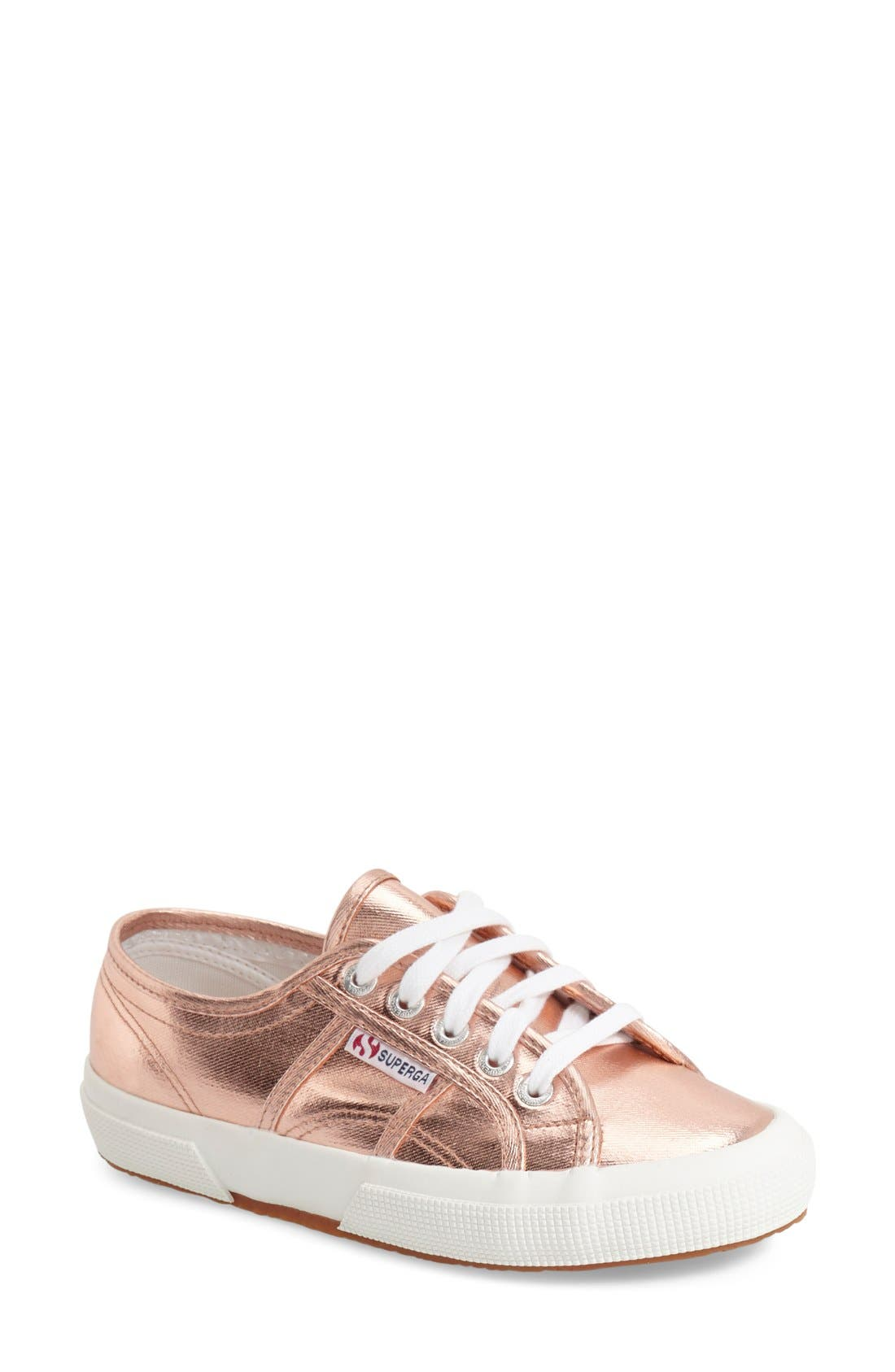 Superga 'Cotmetu' Metallic Sneaker (Women)