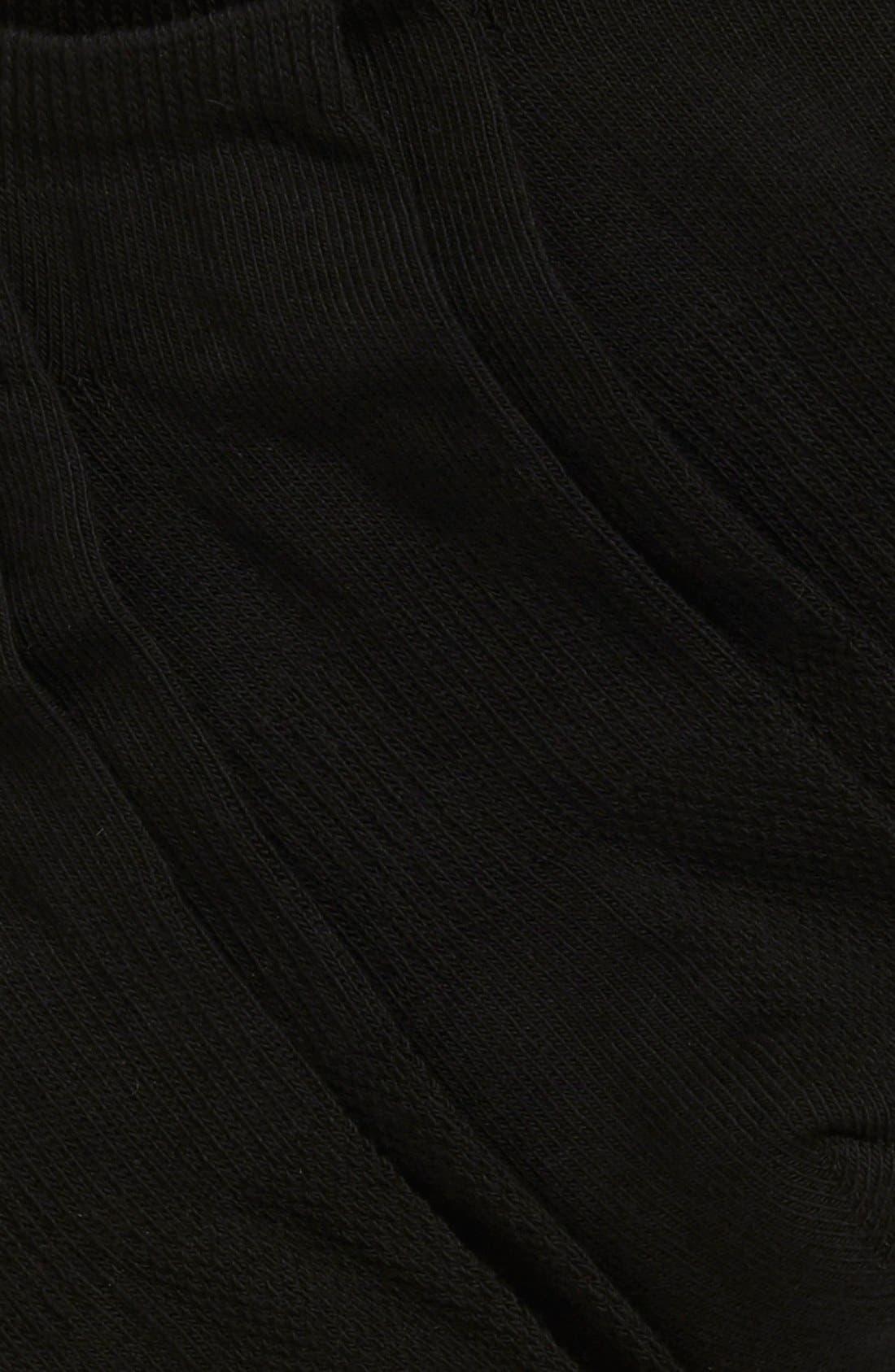 Alternate Image 2  - Nordstrom Men's Shop 3-Pack No-Show Athletic Socks