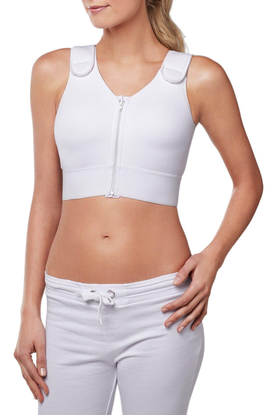 'Patricia' Compression Vest,                             Alternate thumbnail 3, color,                             White
