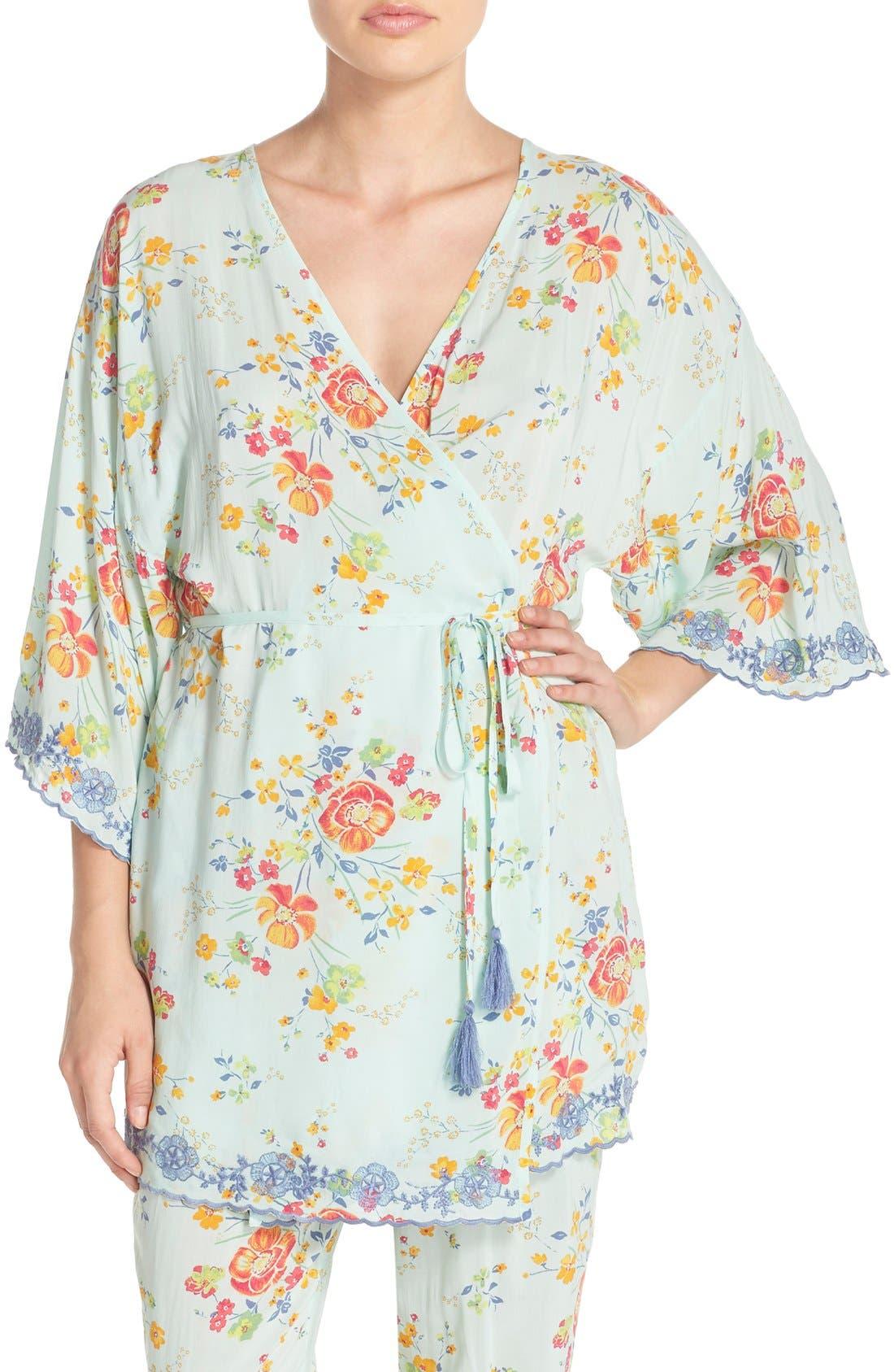Alternate Image 1 Selected - Make + Model 'Summer Daze' Kimono Robe