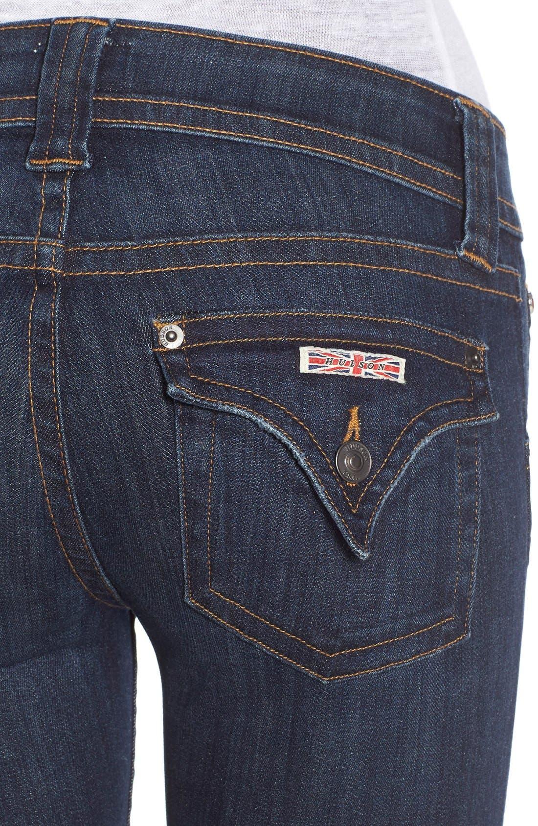 'Palerme' Cuff Bemuda Shorts,                             Alternate thumbnail 4, color,                             Elemental