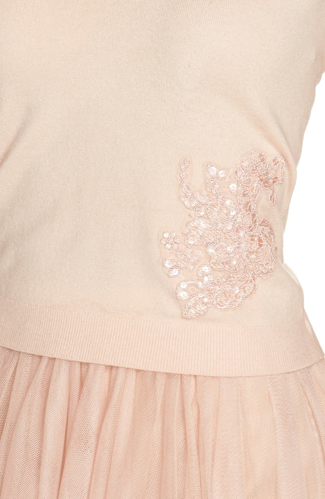Cora Lace Detail Tank,                             Alternate thumbnail 5, color,                             Blossom