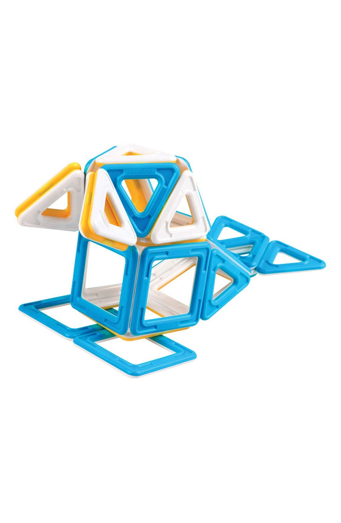 'My First Ice World' Magnetic 3D Construction Set,                             Alternate thumbnail 2, color,                             Blue/ Yellow/ White