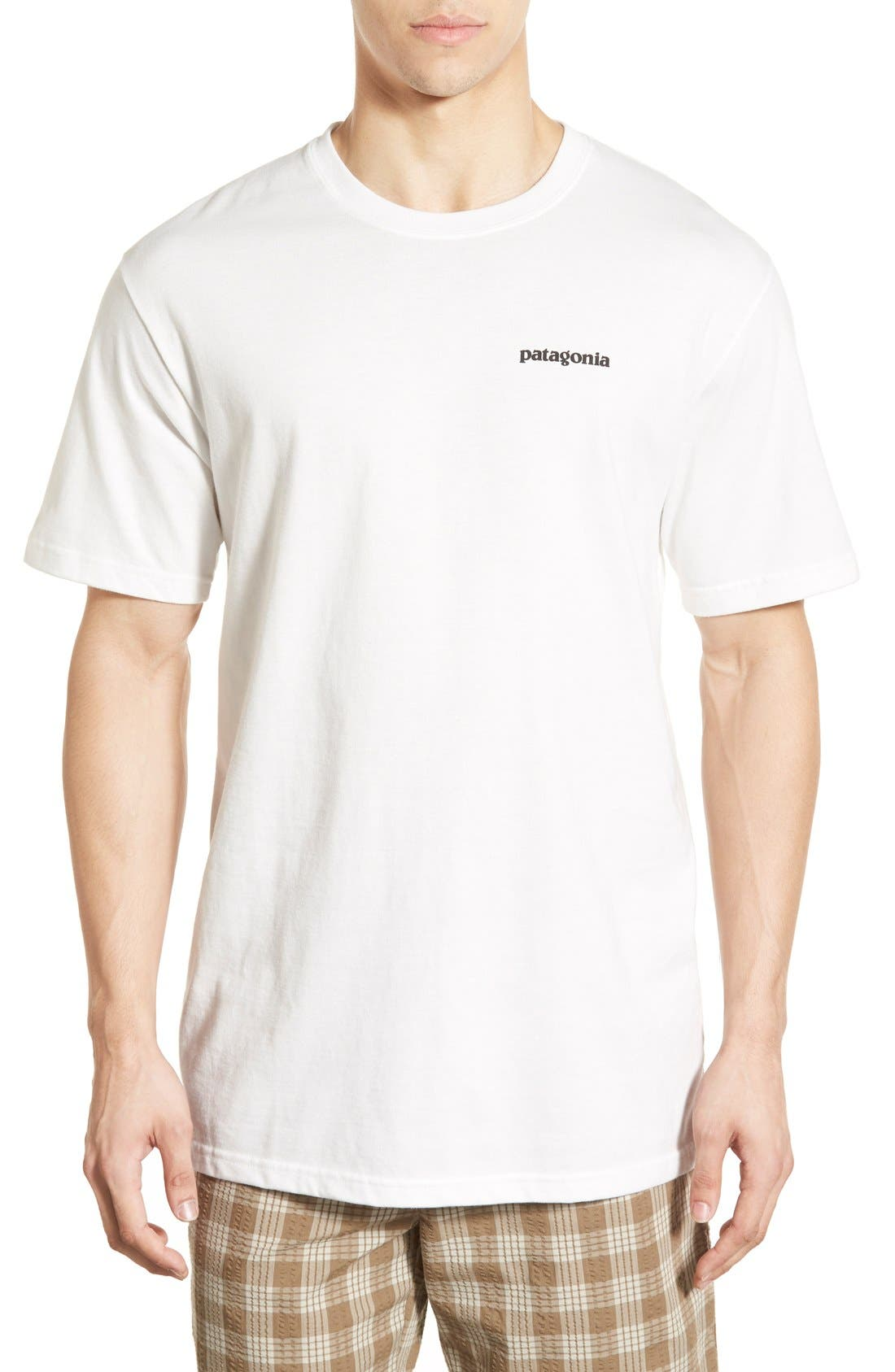 Patagonia 'Trout Fitz Roy' Organic Cotton T-Shirt