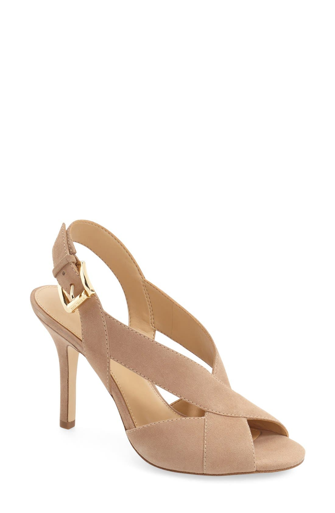 Alternate Image 1 Selected - MICHAEL Michael Kors Becky Slingback Sandal (Women)