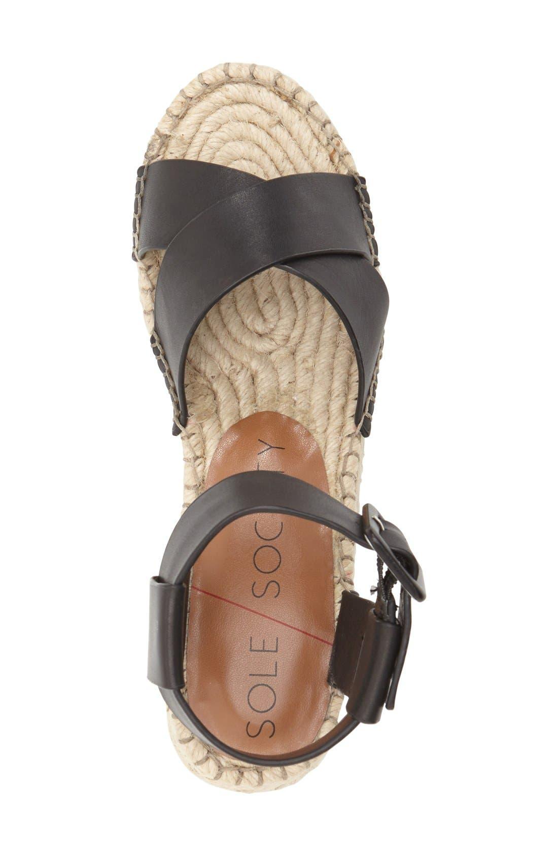 Alternate Image 3  - Sole Society 'Audrina' Platform Espadrille Sandal (Women)