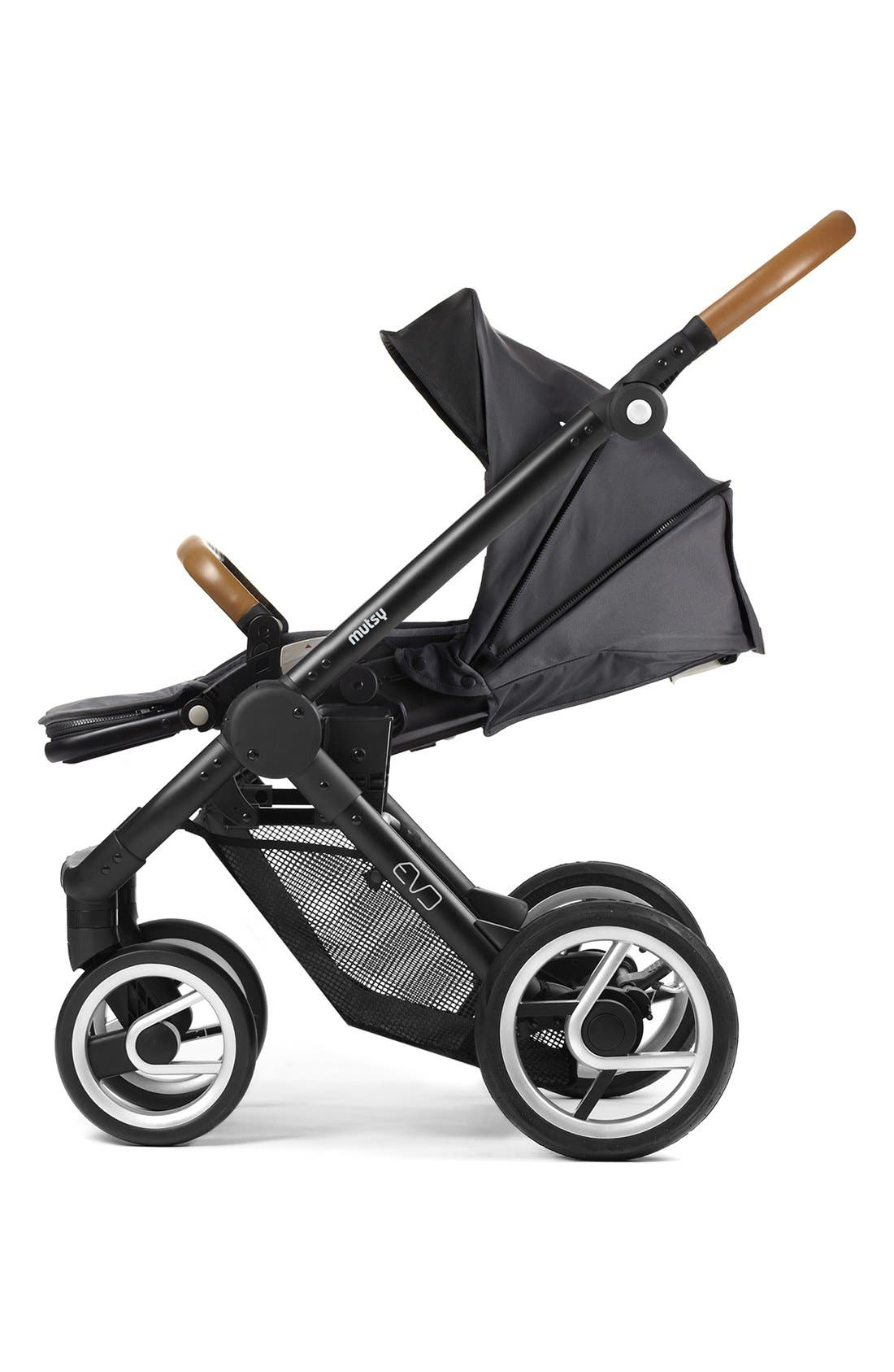 Evo - Farmer Earth Stroller,                             Alternate thumbnail 2, color,                             Brown/ Dark Grey